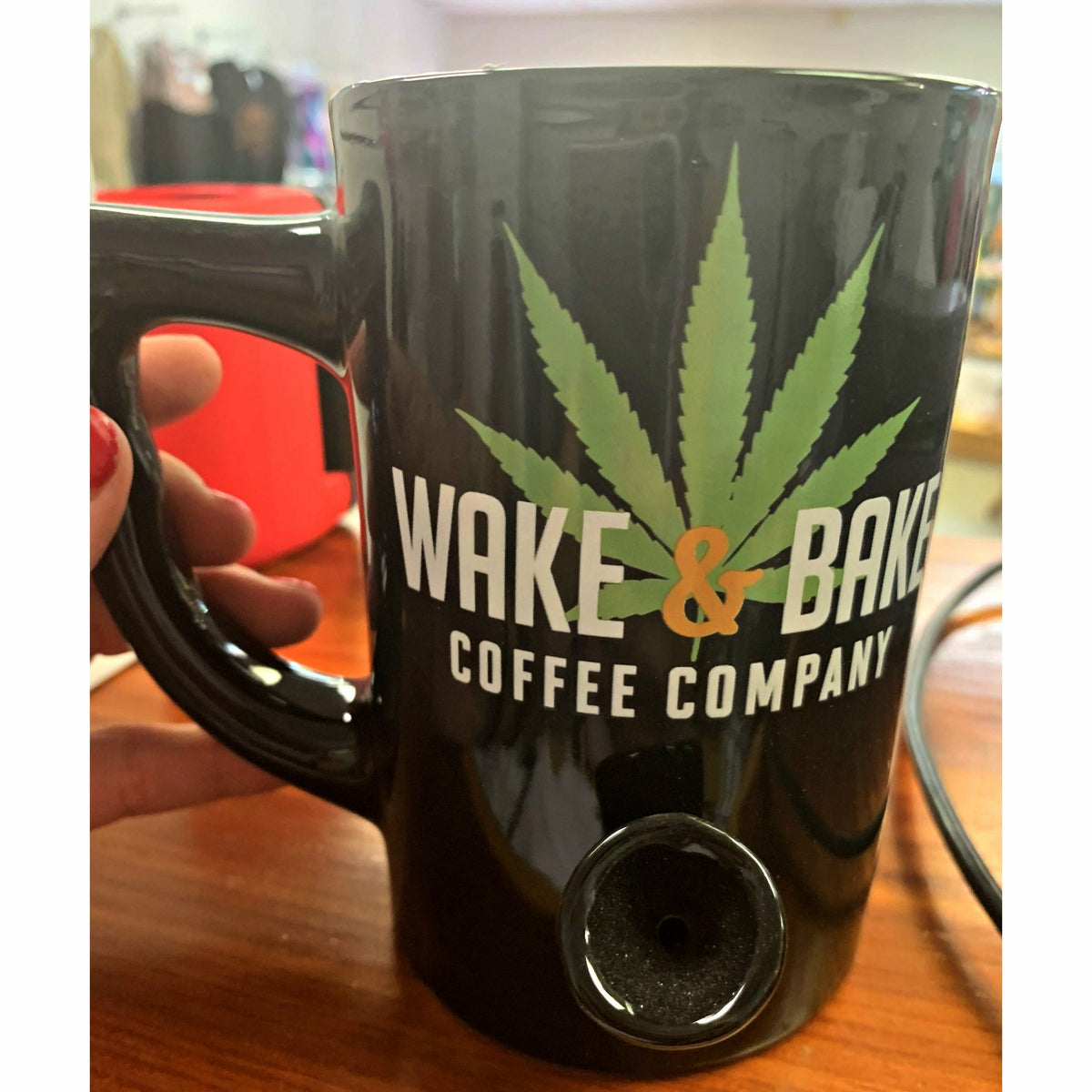 functional Wake and Bake Coffee Mug (2 colors)