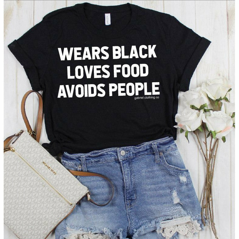 Avoids People tee