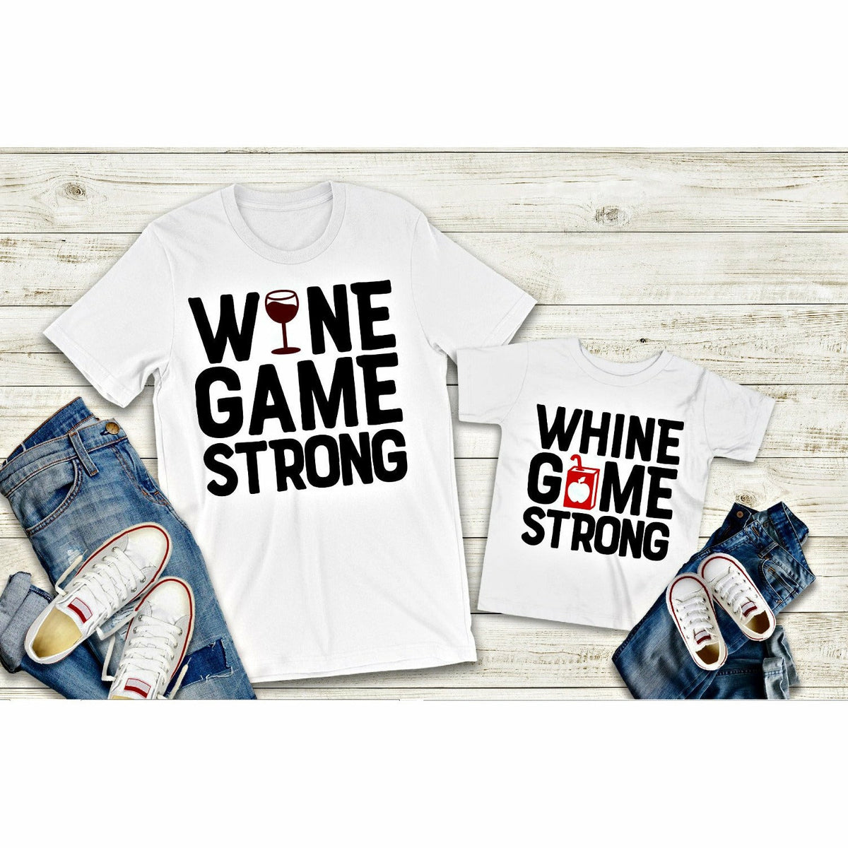 Wine or Whine tee (adult or kids)