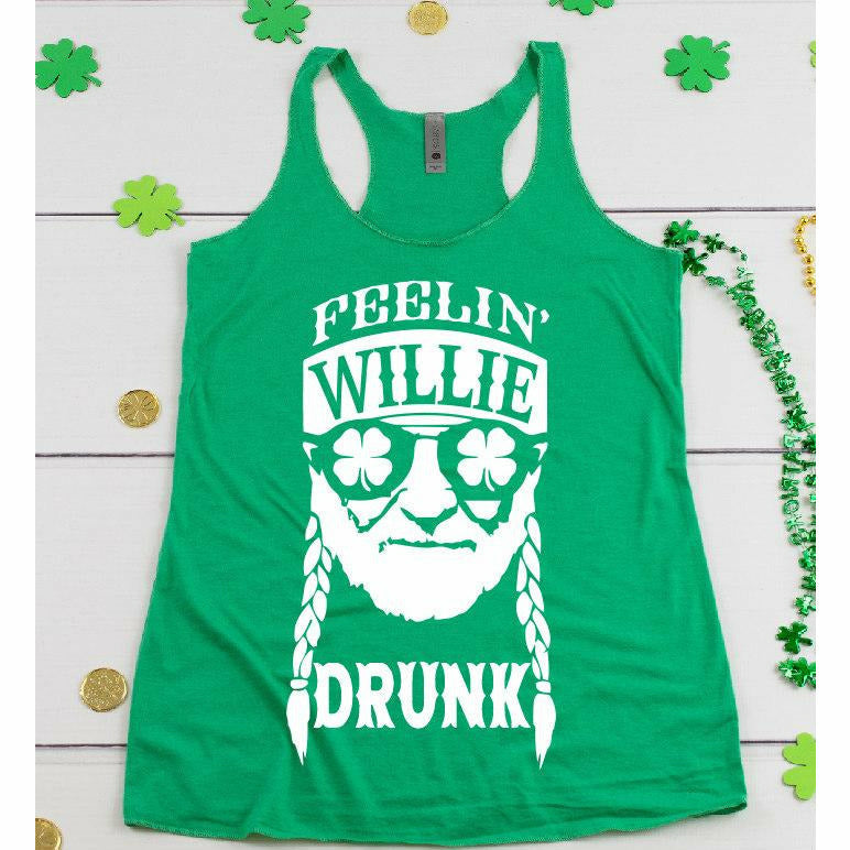 Feelin' willie drunk tee or tank