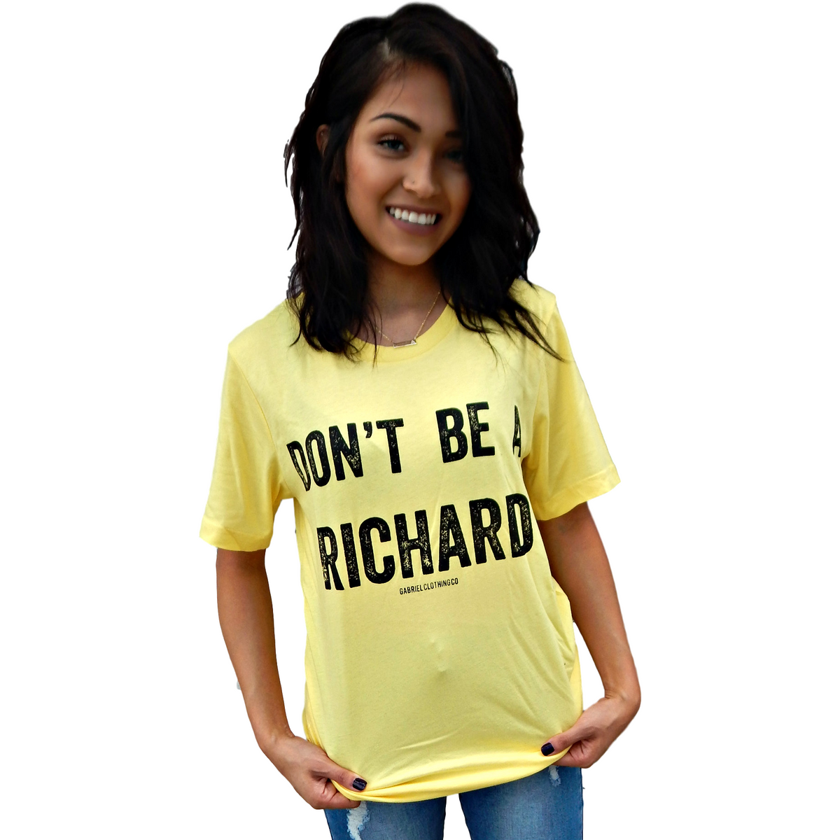 Don't be a RICHARD Tee - Gabriel Clothing Company