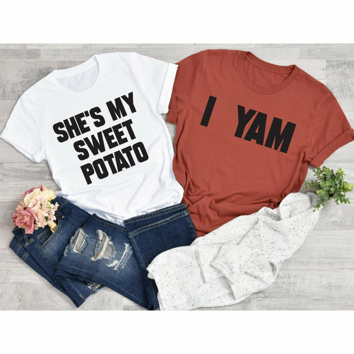 Sweet Potato or Yam Tee