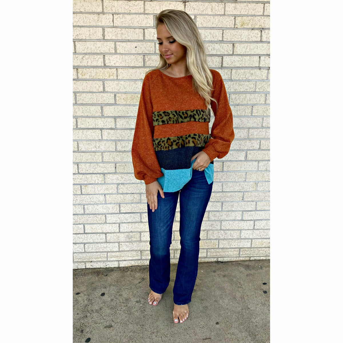 Faith on the Wild Side Sweater