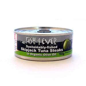 Fish4Ever Skipjack Tuna Steaks in Olive Oil 160g