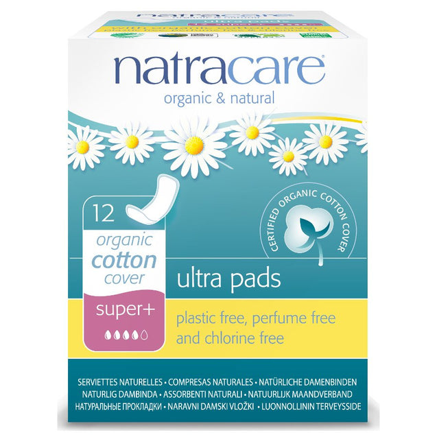 Natracare Natural Ultra Pads Super Plus x 12