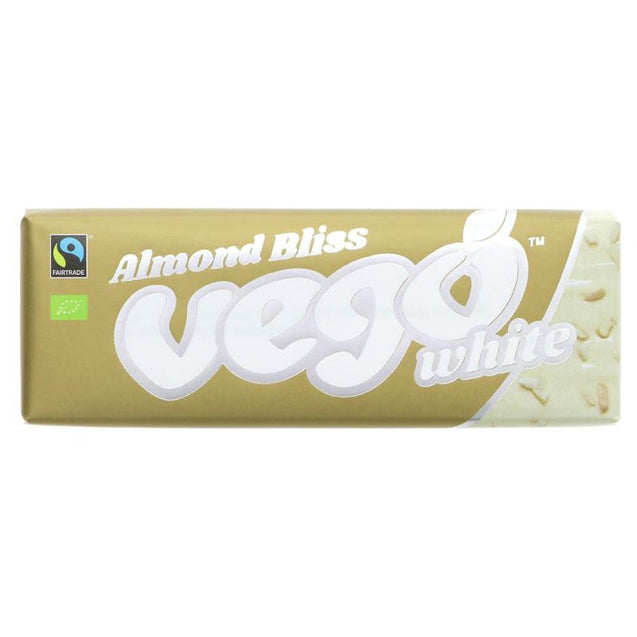 Vego Organic White Almond Bliss 50g