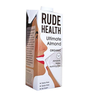 Rude Health Organic Non-Dairy Ultimate Almond Milk 1000ml