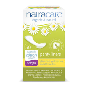Natracare Natural Pantyliners Tanga x 30