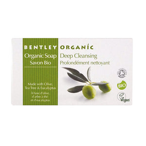 Bentley Organic Deep Cleansing Bar Soap 150g