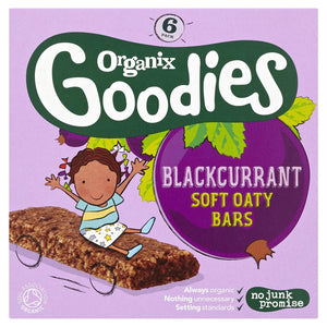 Organix Goodies Blackcurrant Oaty Bar 6 x 30g