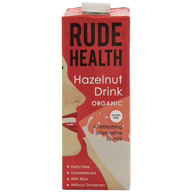Rude Health Organic Dairy Free Hazelnut Drink 1000ml