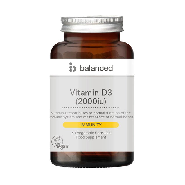 Balanced Vitamin D3 60 Veggie Caps