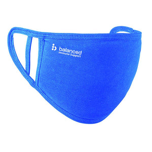 Balanced Washable Face Mask - Royal Blue 2 Ply