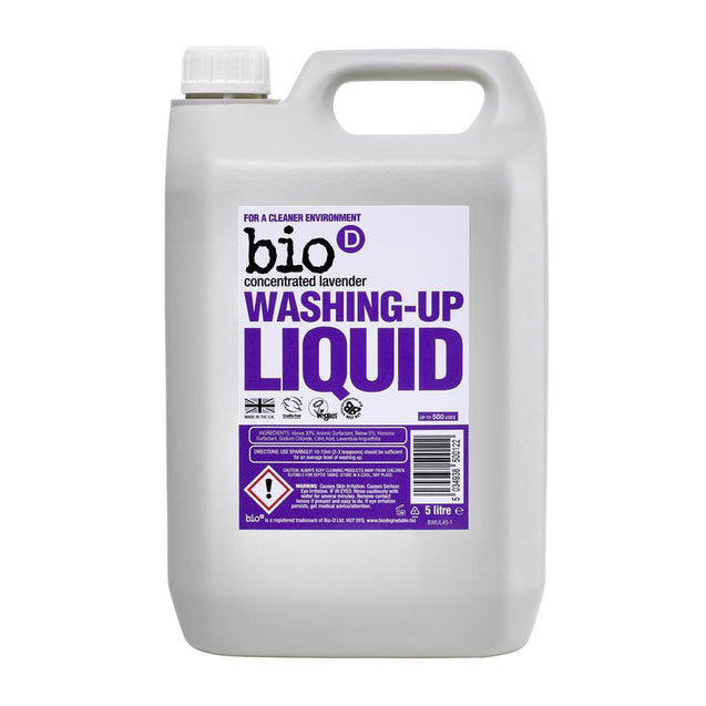 Bio-D Lavender Washing Up Liquid 5 litre