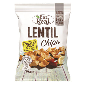 Eat Real Lentil Chips Lemon Chilli 113g