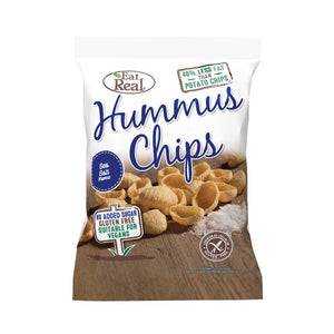 Eat Real Hummus Chip Sea Salt 45g