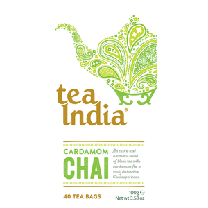 Tea India Cardamom Chai 40 Box