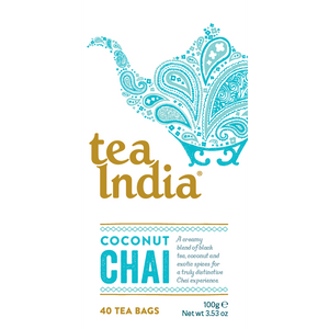 Tea India Coconut Chai 40 Box
