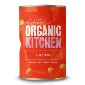 Organic Chickpeas 400g (Dented tins)