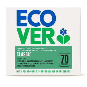 Ecover Dishwasher Tablets Classic 70 x 20g tablets