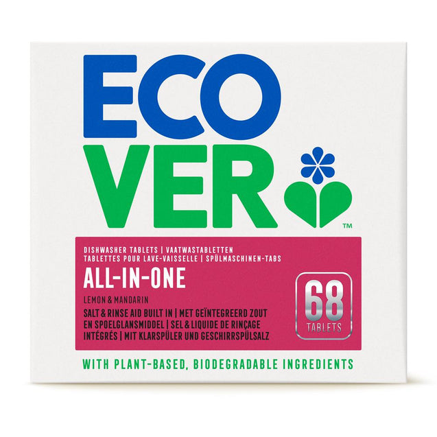 Ecover All in One Dishwasher Tablets 68 tablets