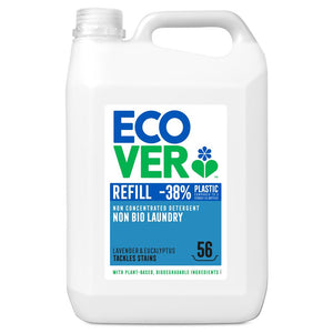 Ecover Non Bio Laundry Liquid 5L Drum - Scented (56 washes)