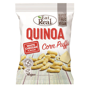 Eat Real Quinoa Puffs Cheese Flavour 113g