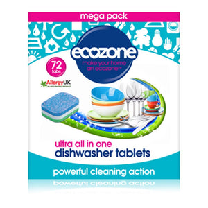 Dishwasher Tablets Ultra 72  Tablet