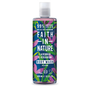 Lavender & Geranium Body Wash 400 ML