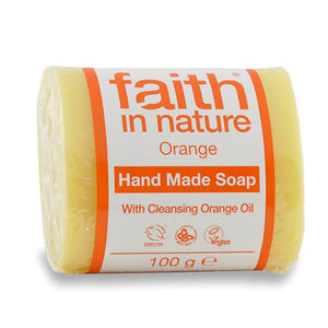 Orange Pure Veg Soap 100 g