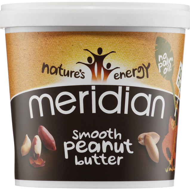Meridian Smooth Peanut Butter 100% 1kg