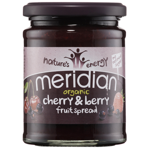 Meridian Organic Cherry and Berry Fruit Spread 284g