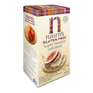 Nairns Gluten Free Super Seeded oatcake 180G