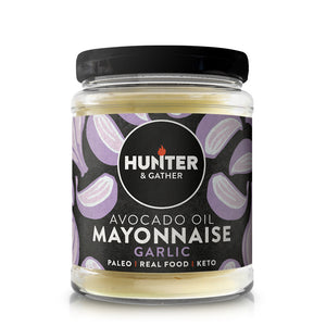 Avocado Oil Mayonnaise Garlic 175 g