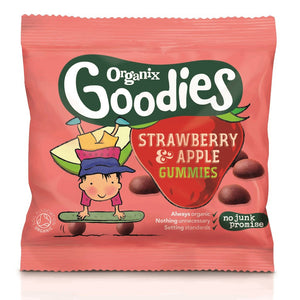 Organix Goodies Gummies Apple and Strawberry 12g