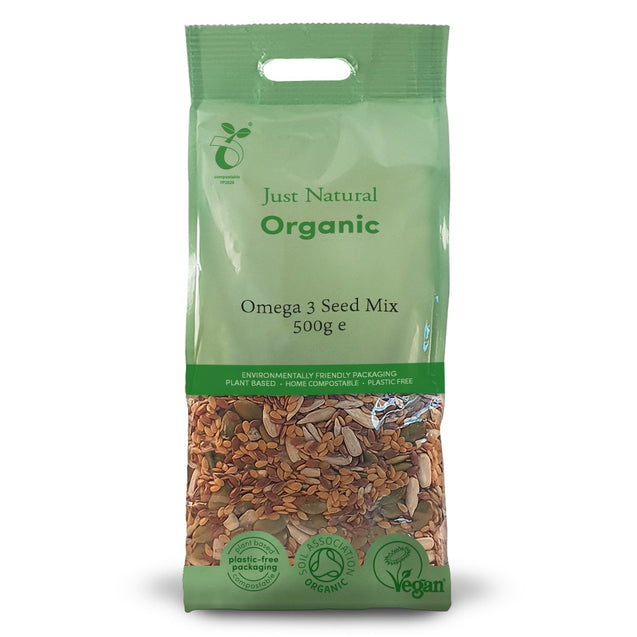 Just Natural Organic Omega 3 Seed Mix 500g