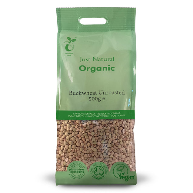 Just Natural Organic Unroasted Buckwheat 500g