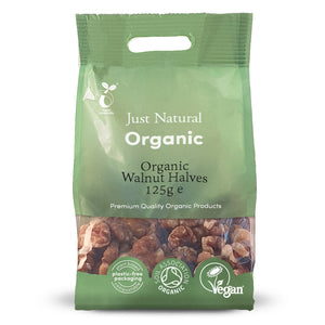 Just Natural Organic Walnut Halves 125g