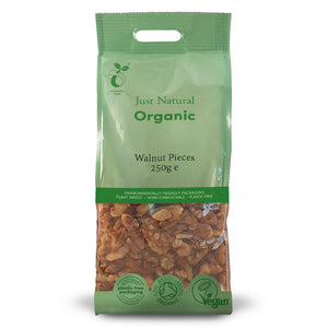Just Natural Organic Walnut Pieces 250g