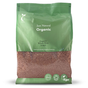 Just Natural Organic Wheat Bran 350g