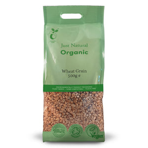Just Natural Organic Wheat Grain 500g