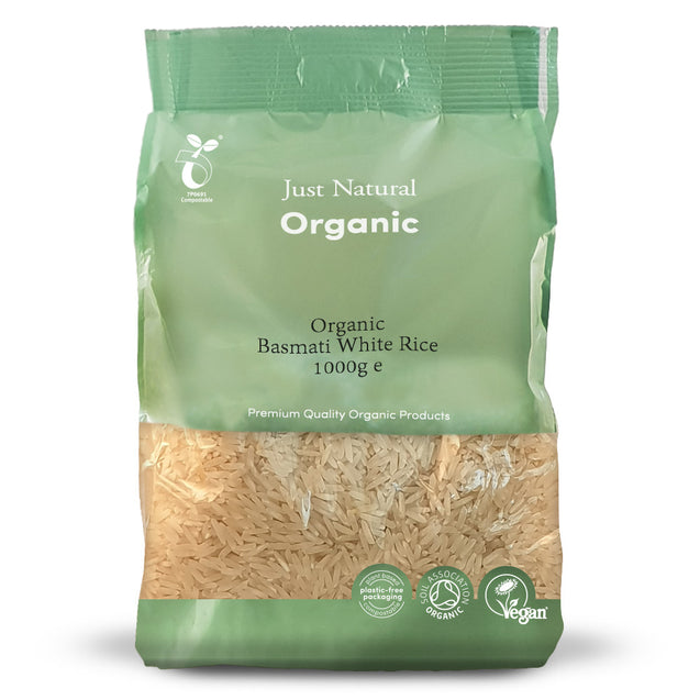 Just Natural Organic White Basmati Rice 1000g