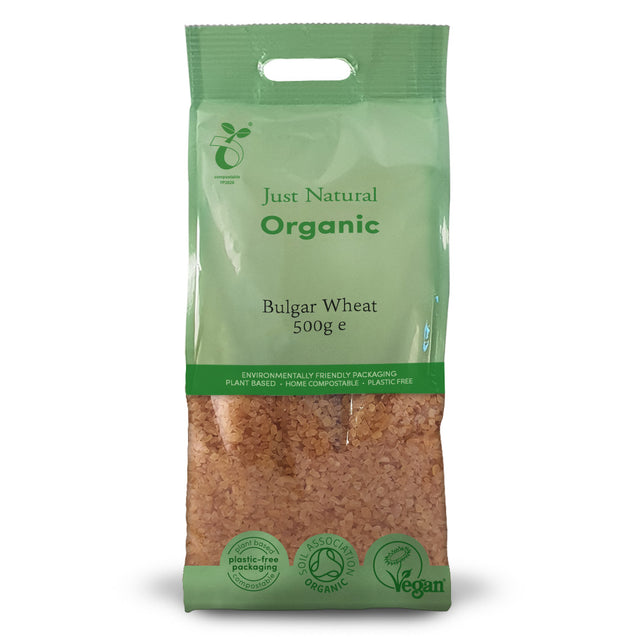 Just Natural Organic Bulgar Wheat 500g