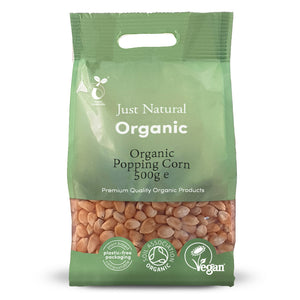 Just Natural Organic Popping Corn 500g