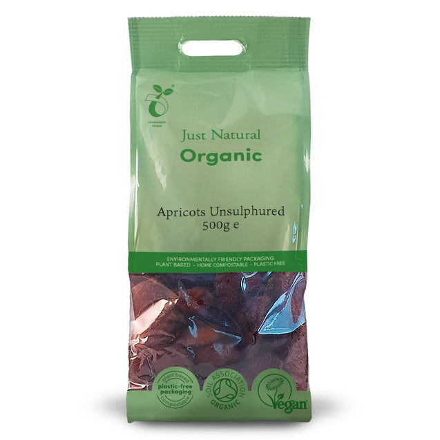 Just Natural Organic Unsulphured Apricots 500g