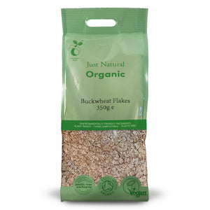 Just Natural Organic Buckwheat Flakes 350g