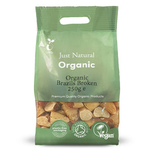 Just Natural Organic Brazils Broken 250g