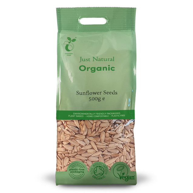 Just Natural Organic Sunflower Seeds 500g