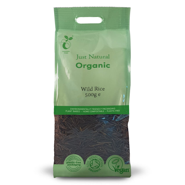 Just Natural Organic Wild Rice 500g