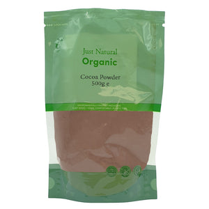 Just Natural Organic Cocoa Powder 500g